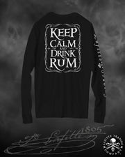 Women's Long Sleeve T Shirt Jean Lafitte ~ Keep Calm
