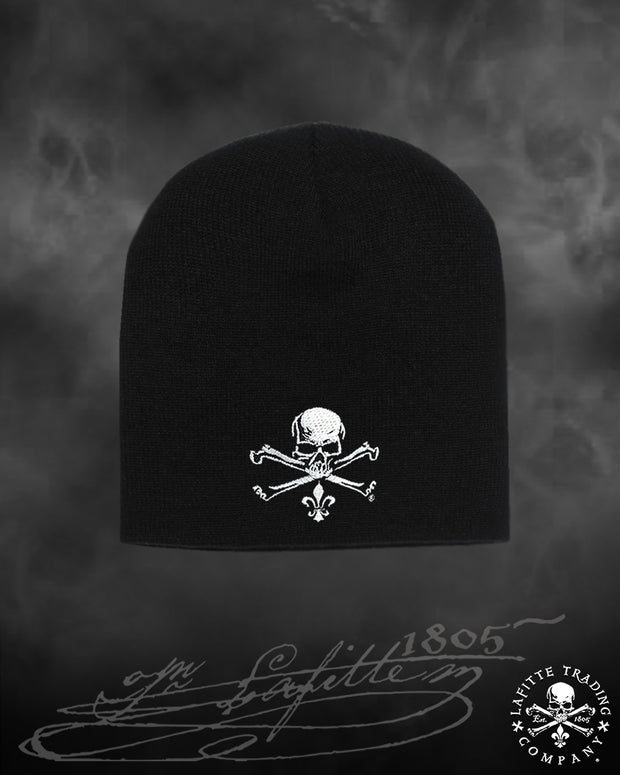 Jean Lafitte ~ Jolly Roger Embroidered Flexfit® Beanie