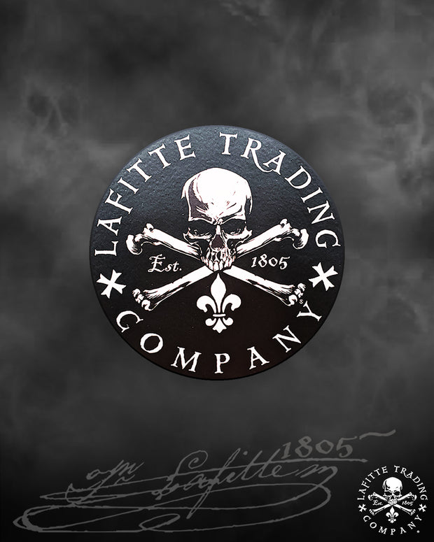 "Jean Lafitte ~ Flagship 3"" Decal"
