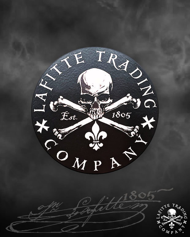 "Jean Lafitte ~ Flagship 4"" Decal"