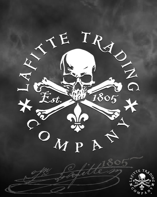 "Jean Lafitte ~ Flagship 5"" Vinyl Decal"