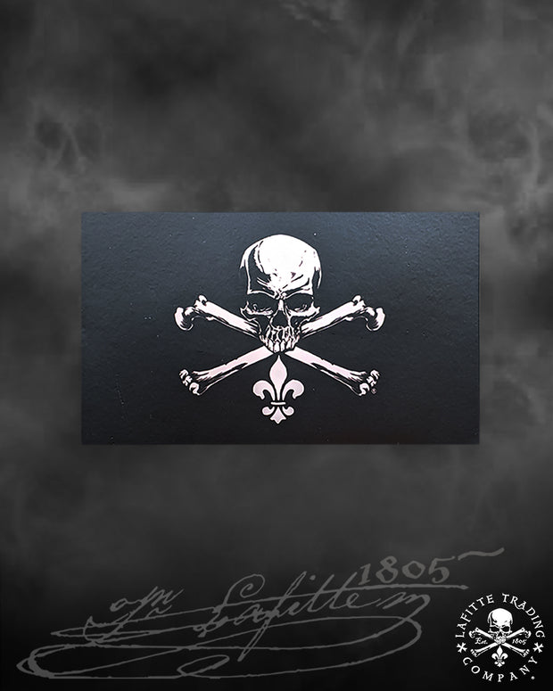Jean Lafitte ~ Jolly Roger Decal