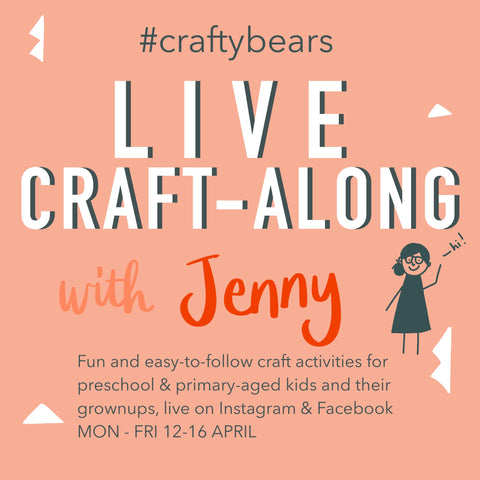 craft a long with grizzli bear live