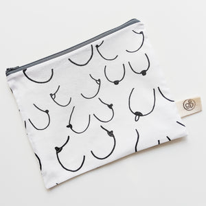 Simply the Breast Zip Pouch