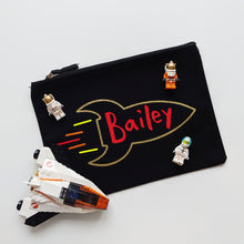 Load image into Gallery viewer, Personalised Rocket Pouch