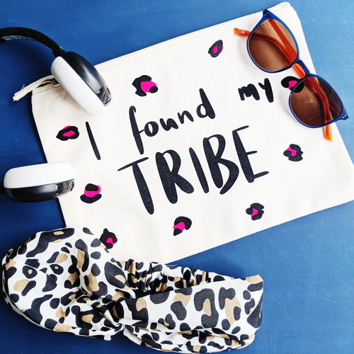 I Found My Tribe Pouch