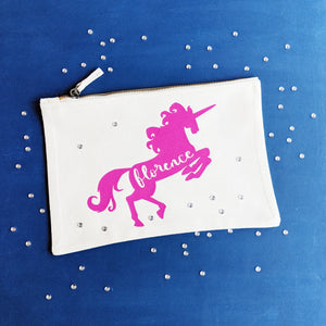 Unicorn Zip Pouch