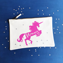 Load image into Gallery viewer, Unicorn Zip Pouch