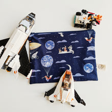 Load image into Gallery viewer, Love You To The Moon Zip Pouch