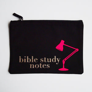 Lamp to Our Feet Bible Study Zip Pouch