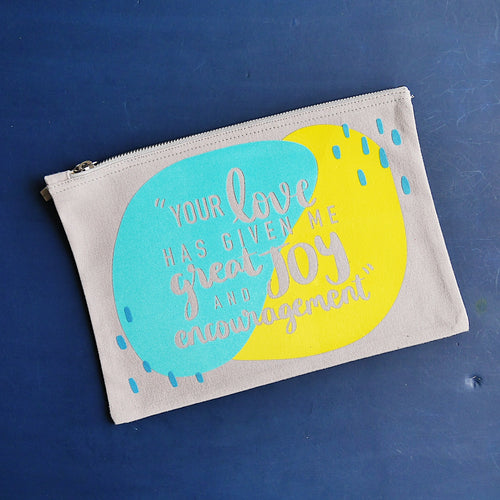 Your Love Zip Pouch
