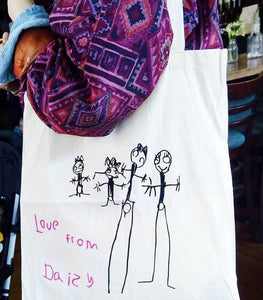 Child's Artwork Tote Bag