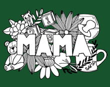 Load image into Gallery viewer, MAMA A4 Print Green