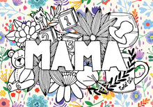 Load image into Gallery viewer, MAMA A4 Print Floral