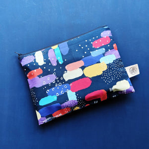 Rainbow Clouds Zip Pouch