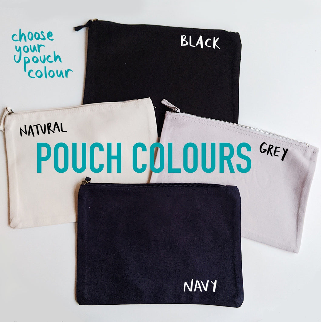 Things That Go Custom Pouch