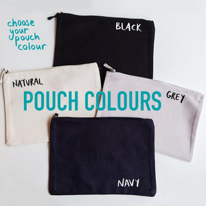 Custom Name Blast Pouch