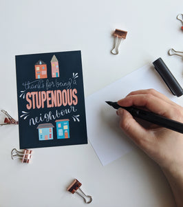 Stupendous Neighbour Postcard