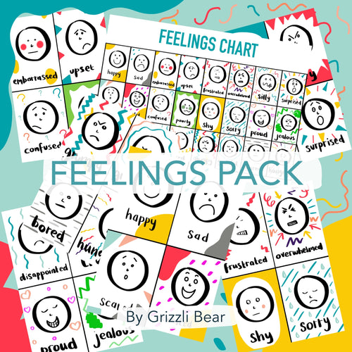 Feelings Pack (PDF) - Grizzli Bear