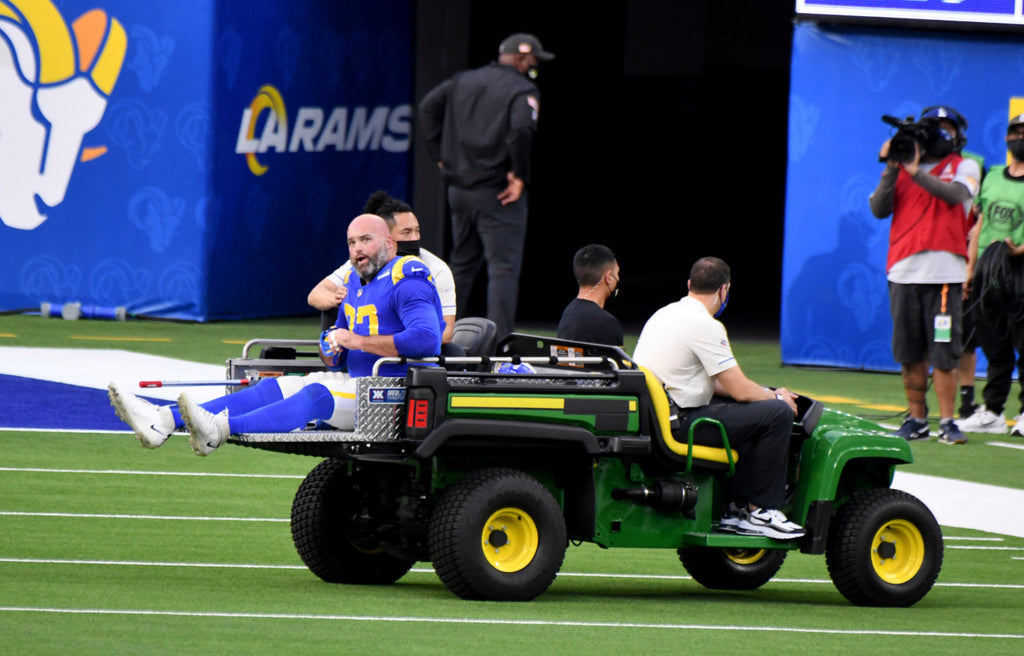 Rams wait to hear how bad Andrew Whitworth's knee injury i