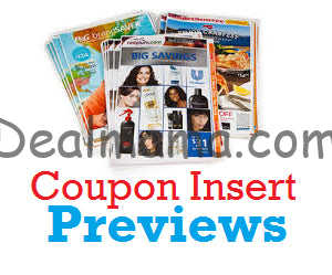 Get ready! Starting 5/17, we will have 2 inserts in the paper! (1) SmartSource (1) Retail Me Not Don't forget to check out the 2019 Sunday Coupon Insert Schedule