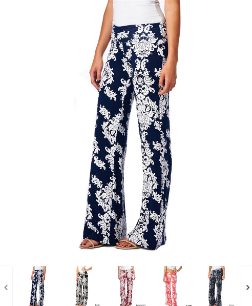 Order Here—> Cute Wide Leg Flowy Print Pants | 27 Options for $16.99 (was $49.99) 2 days only.