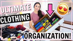 I'm using the Konmari Method ((my first time!!) to organize and declutter my dressers in our bedroom! Sharing organization and decluttering tips and ideas from ...