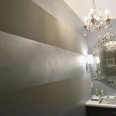 Outstanding Metallic Silver Wall Paint