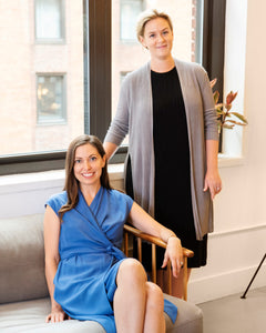 No one knows the trials of finding postpartum workwear quite like Liz Tenety and Jill Koziol, the co-founders of Motherly, a lifestyle brand for modern moms