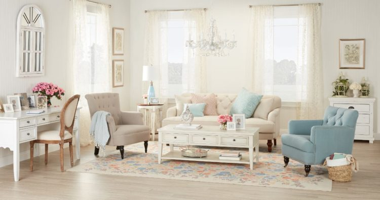 20 Beautiful Examples of Shabby Chic Design