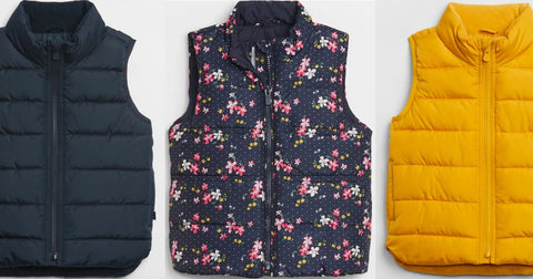 Gap Factory Kids Puffer Vests Only $12.59 (Regularly $35) + Save on Sherpas & Hoodies