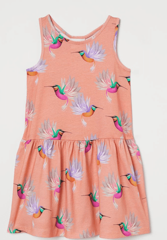 H&M Girl's Organic Cotton Dress $4.99 Shipped Today only on Amazon