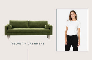 Hear me out: The only acceptable way to choose your sweatpants depends entirely on your couch