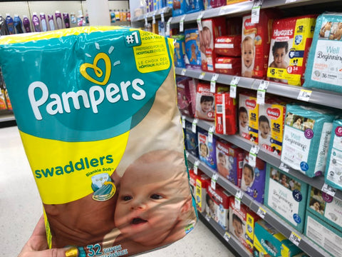 Pampers Diapers or Training Pants only 5.66 Each Shipped!