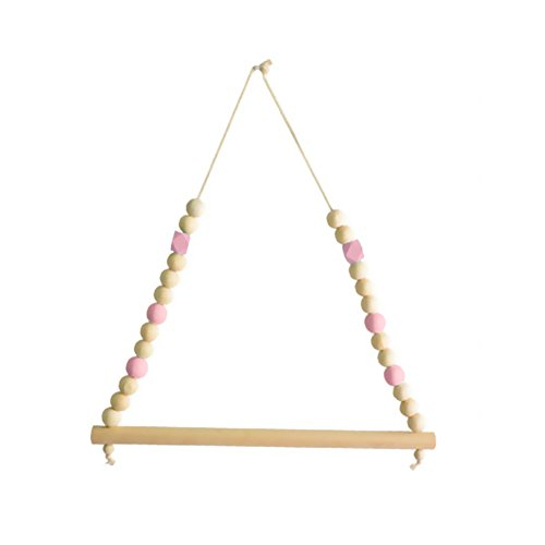 buyanputra Nordic Lovely Wooden Clothes Hanger,Wall Hanger Pendant Decoration for Kids Room Nursery