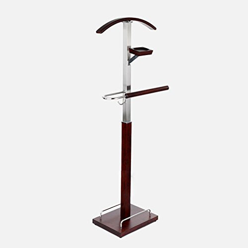 JIANFEI Floor Standing Coat Rack Hat Stand Hanger Creativity Hotel Multifunction Suit Tie Hangers High-end, Wood