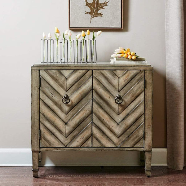 Online shopping madison park dresden storage chest wood living room storage brown tan geometric cheveron pattern modern style dresser chest 1 piece 2 doors chest for bedroom