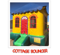 COTTAGE BOUNCE HOUSE RENTAL, MESA, GILBERT, ARIZONA