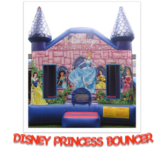 DISNEY PRINCESS CASTLE BOUNCER RENTAL