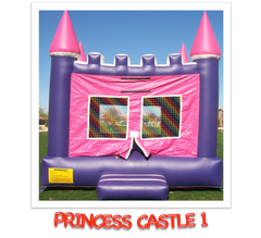 PRINCESS CASTLE BOUNCE HOUSE RENTAL