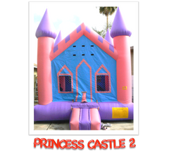 PRINCESS BOUNCE HOUSE CASTLE 2