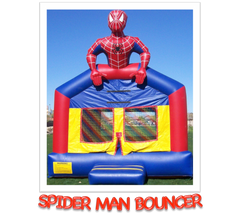 SPIDER MAN BOUNCE HOUSE RENTAL