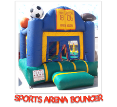 SPORTS ARENA BOUNCE HOUSE RENTAL