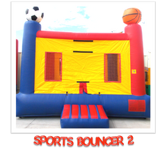 SPORTS BOUNCER BOUNCE HOUSE RENTAL