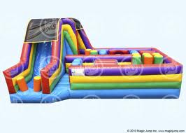 360 OBSTACLE COURSE INFLATABLE