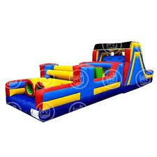 40 FOOT OBSTACLE COURSE INFLATABLE