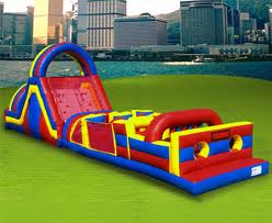 64 FOOT OBSTACLE COURSE INFLATABLE