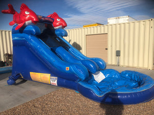 LIL KAHUNA INFLATABLE WATER SLIDE