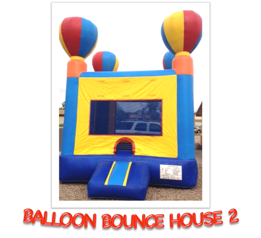 BALLOON BOUNCE HOUSE 2