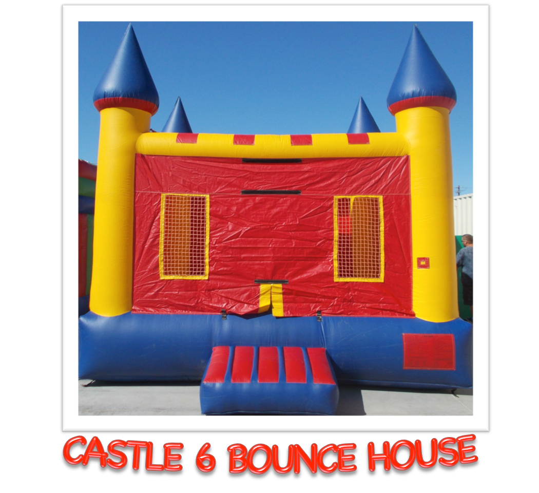 CASTLE #6   BOUNCE HOUSE